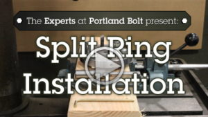 Video: Split Ring Installation