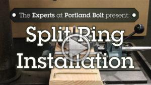 Video: Split Ring Installation